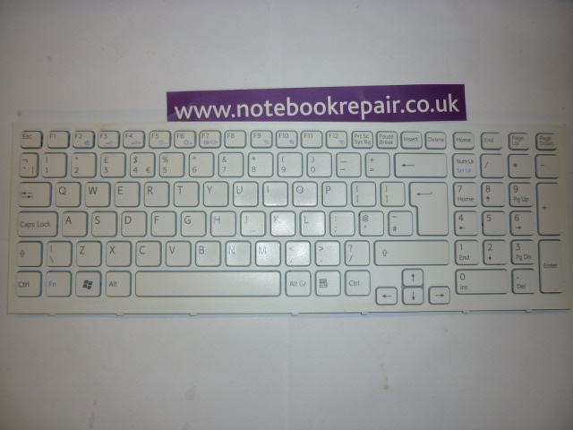 PCG-7132M WHITE Keyboard 148793411