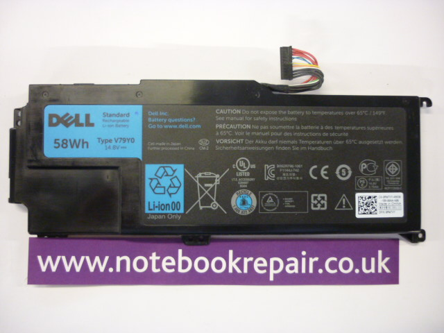 OFFICIAL Dell Battery For XPS 14z 14Z-L412X 14Z-L412Z YMYF6 RMTV