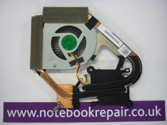 Dell XPS 14Z L412Z Processor CPU Heatsink & Fan ~ DP/N MK9J3