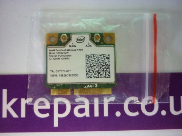 Wifi Wireless Card Intel Centrino Wireless-N 100 100BNHMW