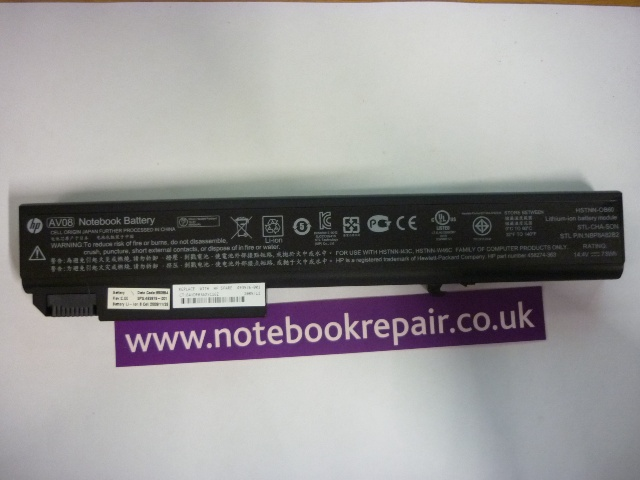 HP EliteBook 8730w Genuine Battery AV08 HSTNN-OB60 493976-001