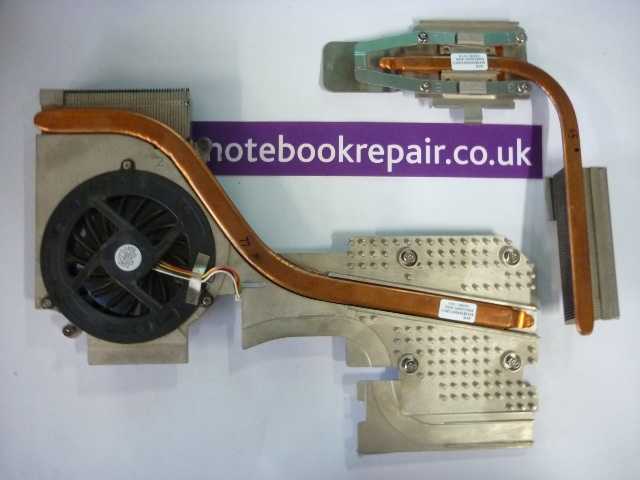 HP EliteBook 8730w Video Card/CPU Heatsink & Fan
