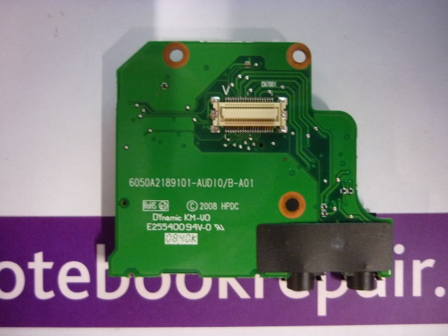 HP EliteBook 8730W Audio Board SD Card Reader 6050A2189101