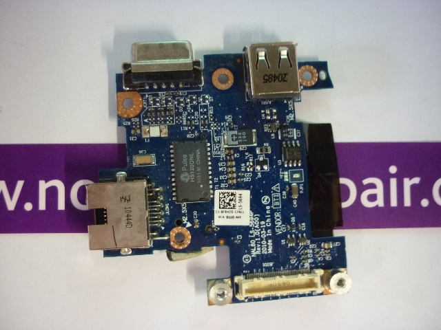 Dell LATITUDE E4310 VGA/Ethernet/USB Board