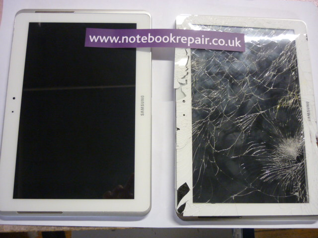 Galaxy Tab 2 - GT5110 - Fitted Replacement screen