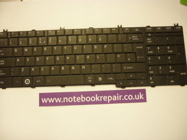 Satellite C660D UK KEYBOARD