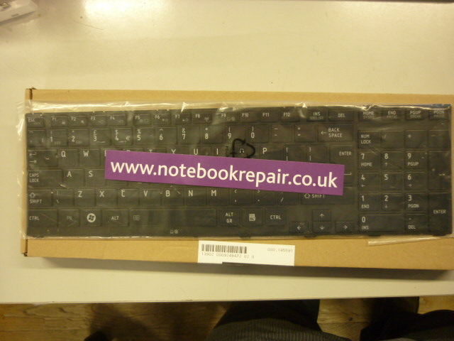 Sat Pro R850 UK keyboard