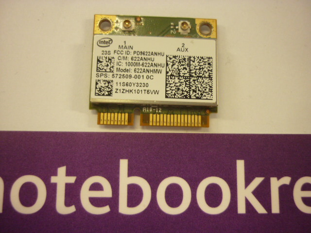 LENOVO X201 WIRELESS CARD