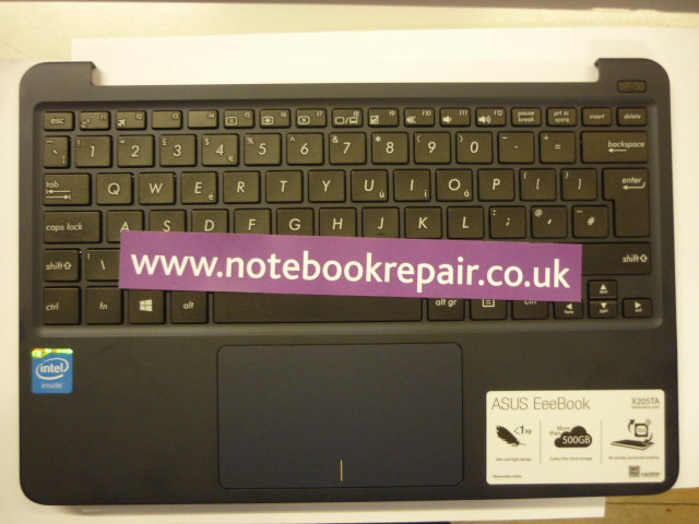 X205TA keyboard/palmrest UK
