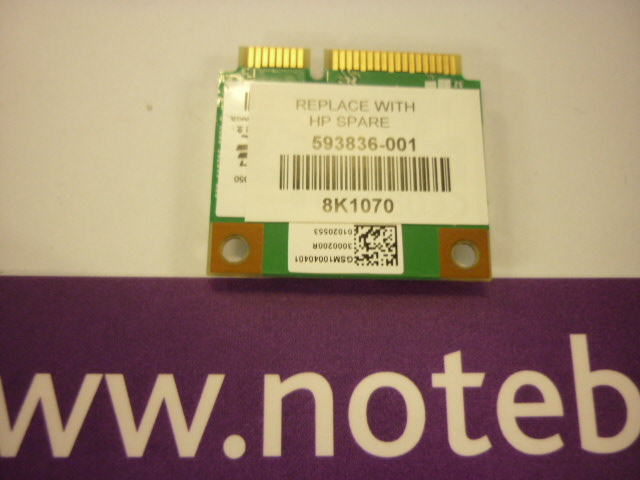 PROBOOK 4525S - WIRELESS WIFI CARD