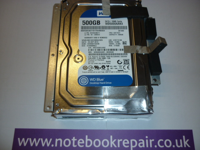 S20-00 WD Blue 500GB HDD