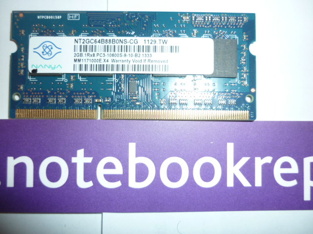 2GB DDR3 1333MHz Laptop RAM