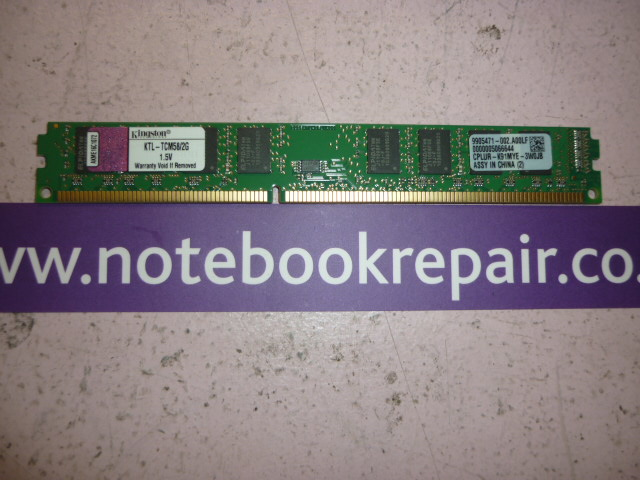 2GB DDR3 1066MHz Desktop Memory