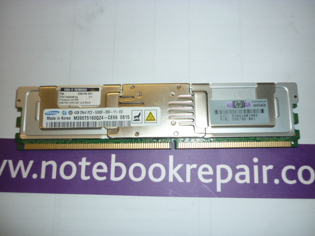 SPS-DIMM,4GB PC2-5300 FBD,64Mx8