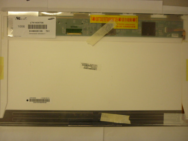 "16"" LCD SCREEN LTN160AT06 WUXGA (1366*768)"