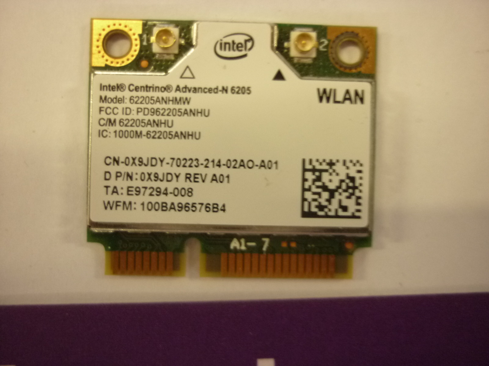 LATITUDE e5520 wireless card
