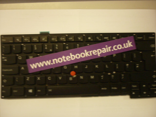 ThinkPad S3-S440 UK Keyboard Backlit Black No Frame