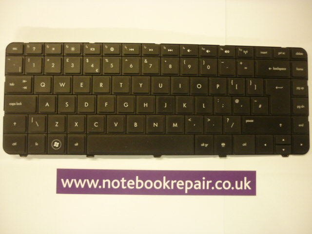 HP 650 UK keyboard