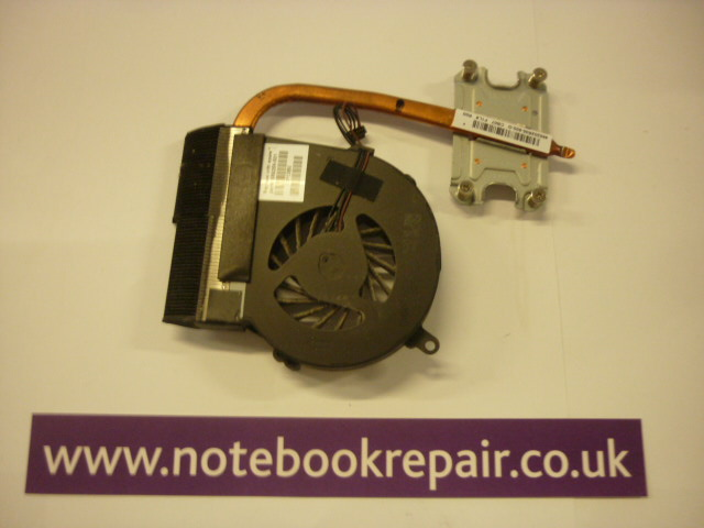 HP 650 heatsink and system fan