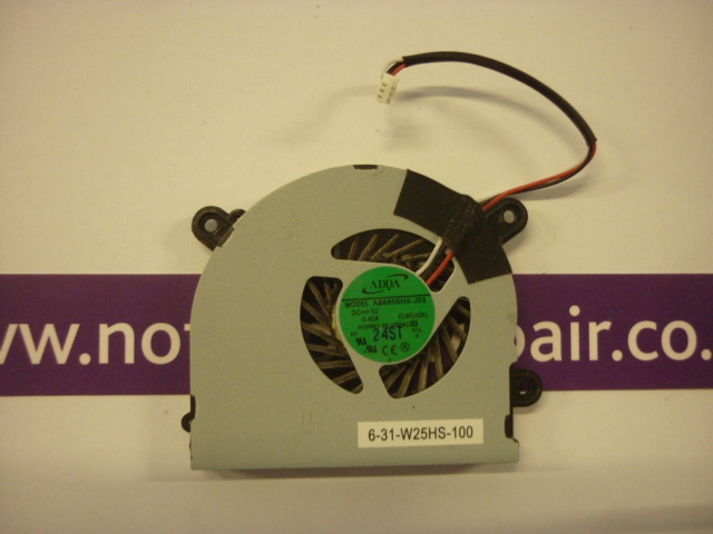 RM Notebook 320 cooling fan