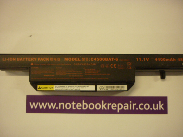 RM Notebook 320 battery