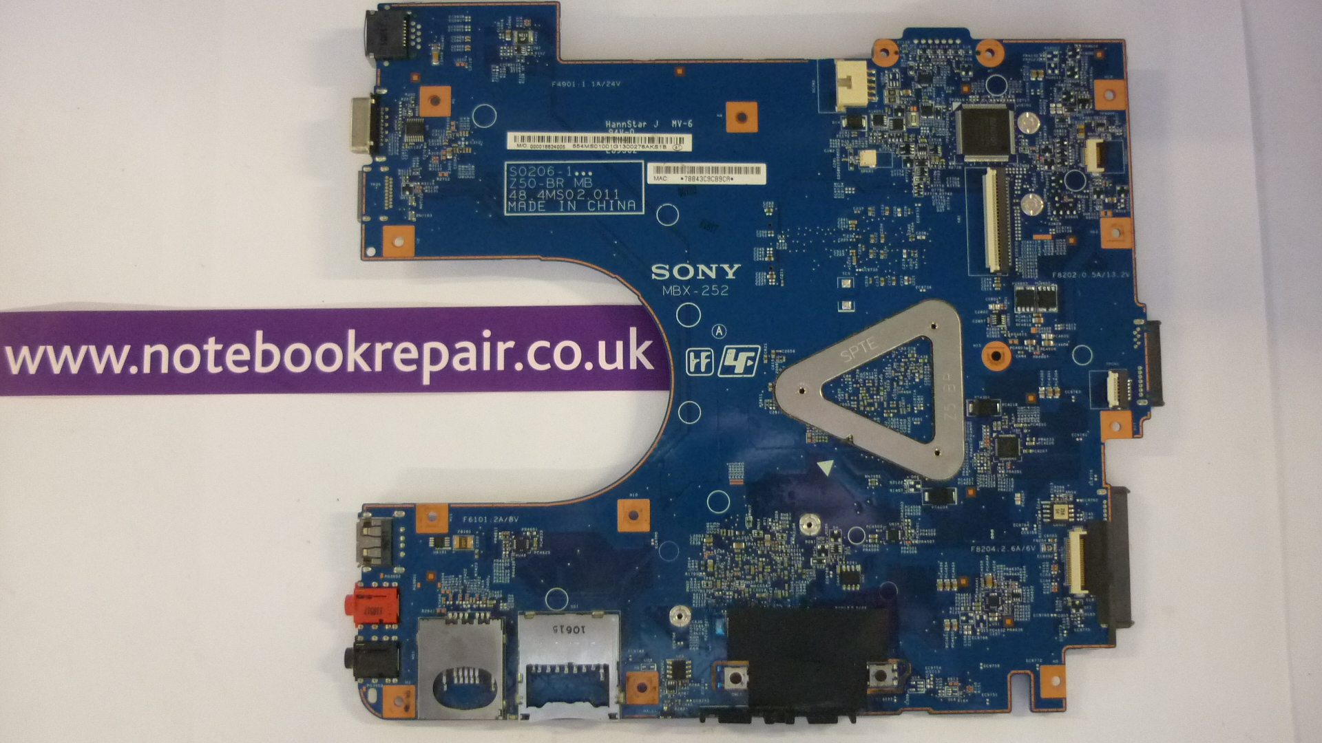 Sony VAIO VPCEL Series motherboard AMD E-450 1.65GHz A1843425A 4