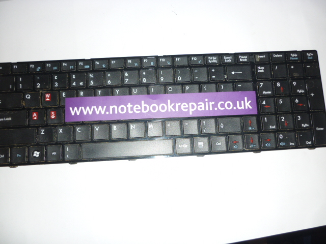 MSI GX660R Keyboard UK