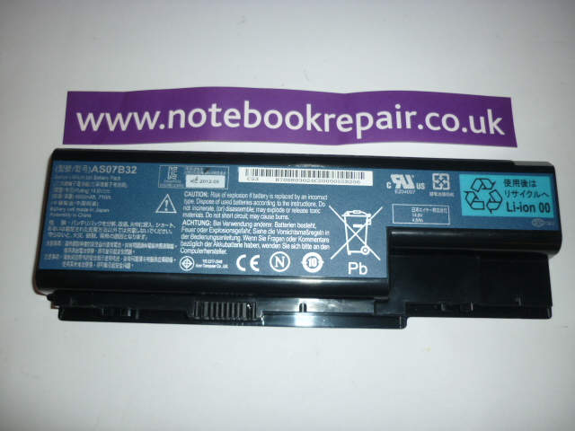 Acer battery AS07B32