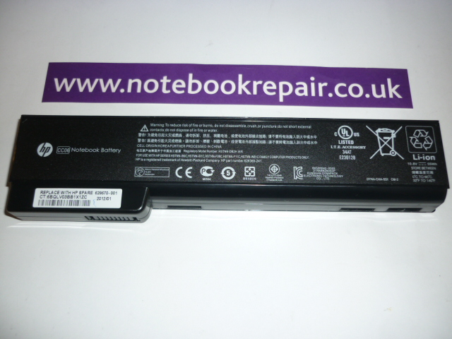 HP EliteBook 8560 Battery