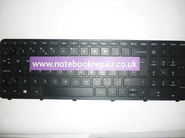 HP 355 G2 Keyboard (UK)