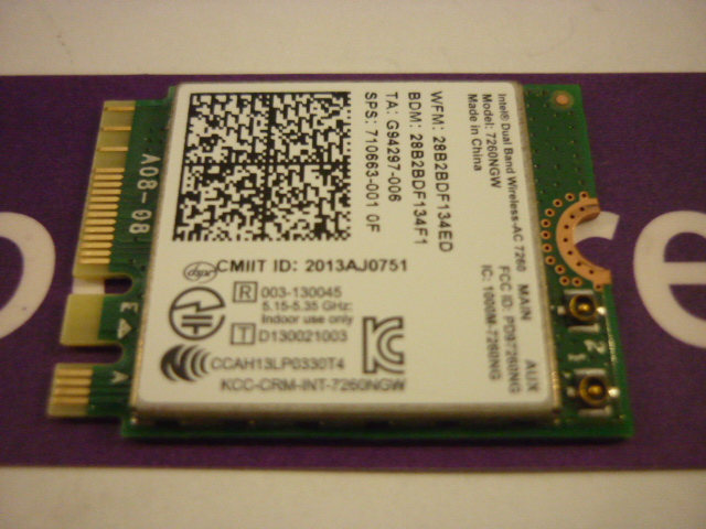 ASUS C300MA Wireless Card