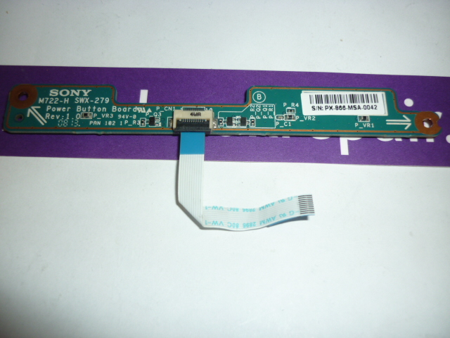 Sony Vaio PCG-7131M Power Button Board
