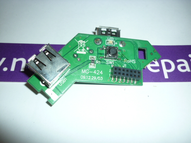 Acer Veriton N282G USB and Power Button Board