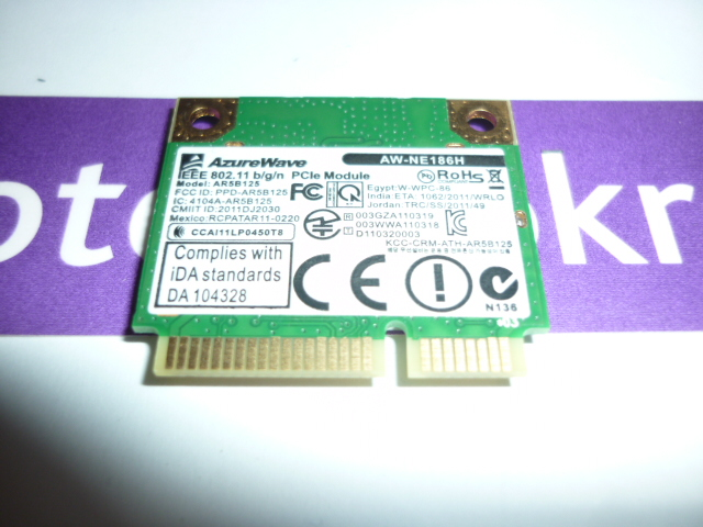 Asus X501 Ralink RT5390 Wireless Card