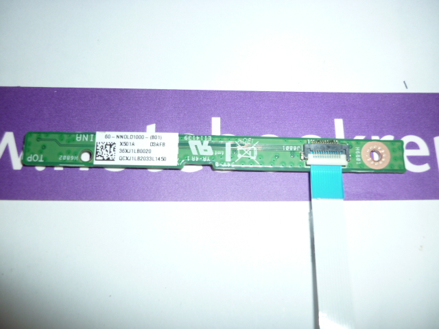Asus X501 Power Button Board