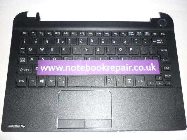 Toshiba Satellite Pro NB15T Palm Rest and Keyboard