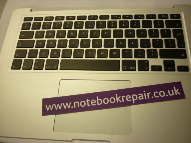 A1466 Macbook Air palmrest trackpad and uk keyboard