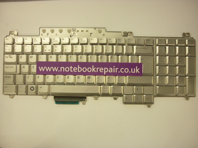 Dell Inspiron 1721 Silver Keyboard (UK)