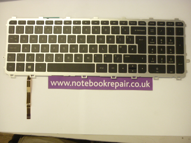 HP Envy Touchsmart 15-J 15-J000 UK Backlit Keyboard
