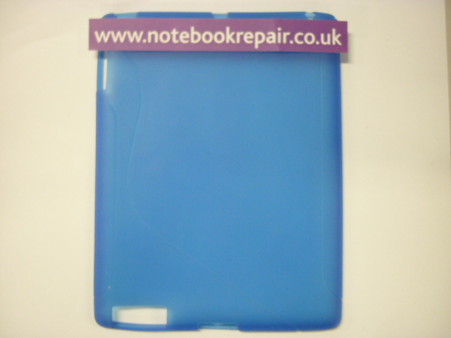 iPad Two Blue Rubber Protective Skins