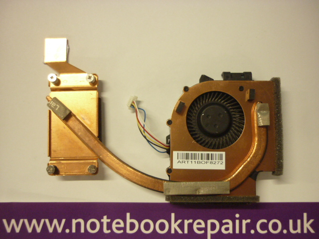 E520  heatsink and fan