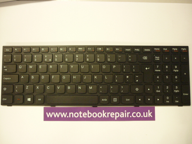 Lenovo B50-80 Laptop Keyboard T6G1-UK 25214786