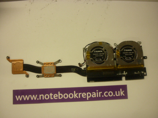 Yoga 13 heatsink and fans