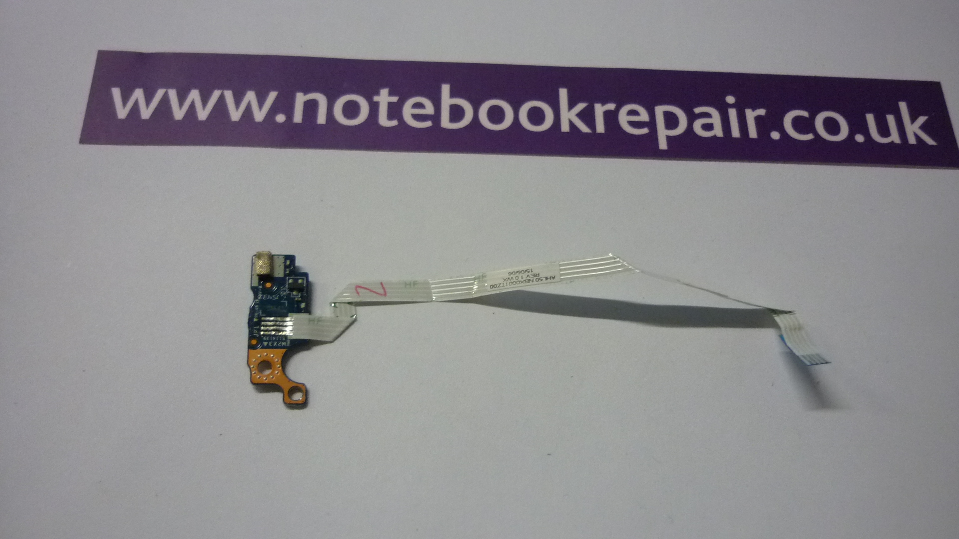 Hp 15-Af117Na power button board and cable