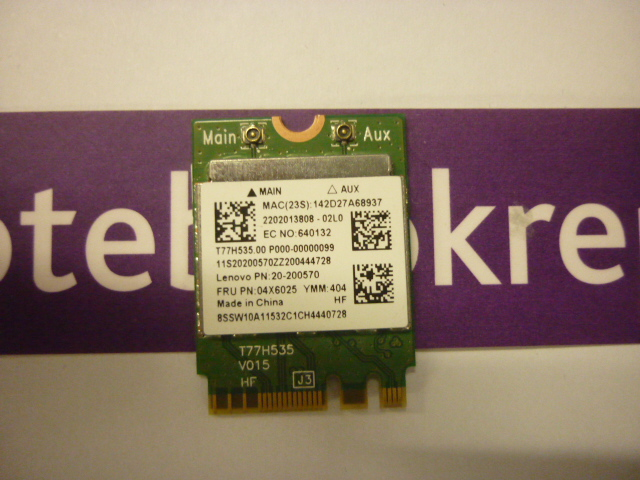 Z50-70 wifi  / Bluetooth card