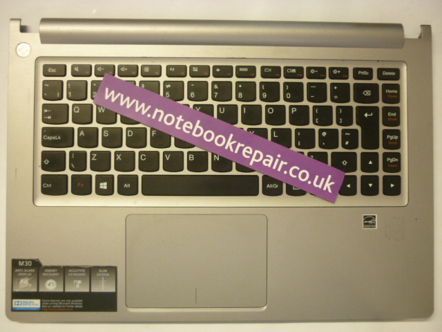 M30-70 Keyboard, trackpad and Palm Rest