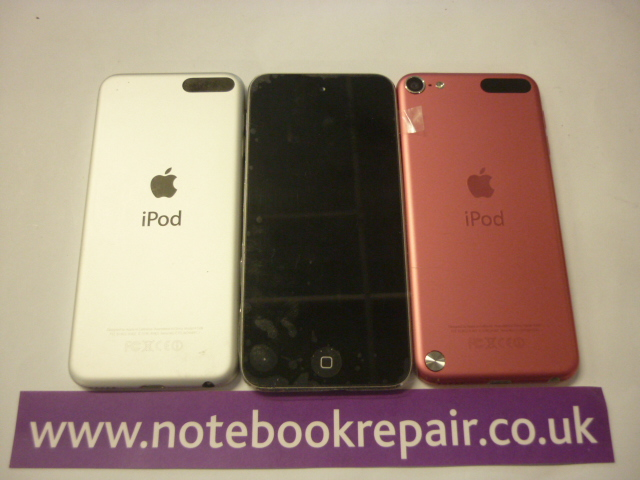 Apple iPod Touch 5th Gen Grey, Silver and Pink