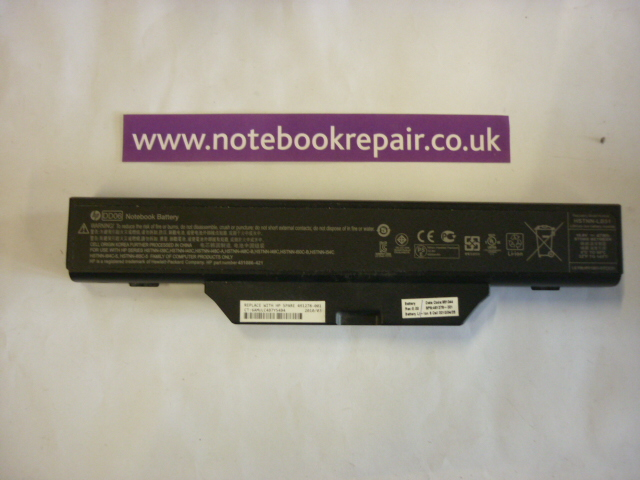 Compac 610 HP Laptop Battery