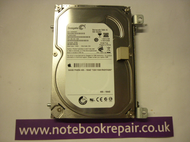 Apple Branded 500GB HDD 7200RPM
