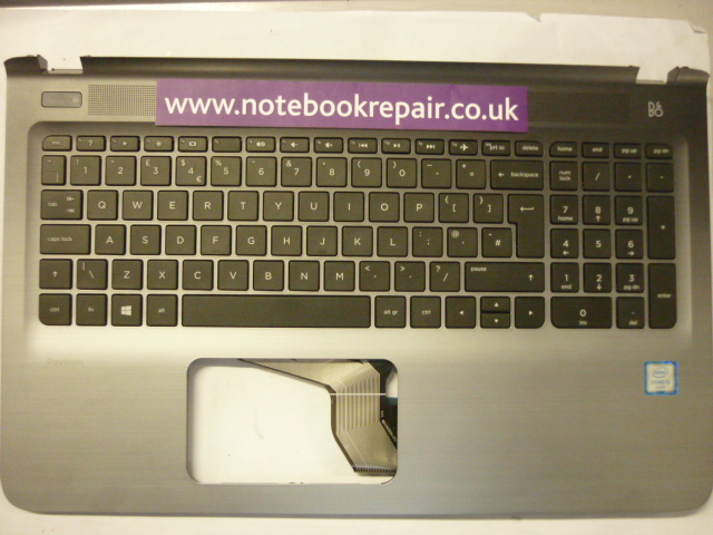 HP Pavilion 15-AB Palmrest and keyboard